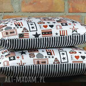 poszewka poduszki poduszka dekoracyjna z motywem
