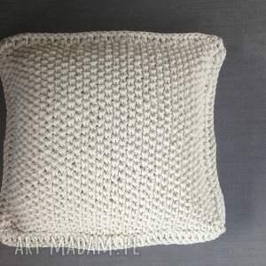 Motkovo Poduszka dekoracyjna ze sznurka bawełnianego - sznurek pillow