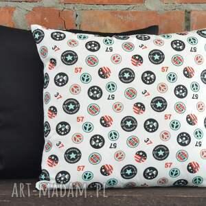 poduszki poszewka poduszka dekoracyjna z motywem