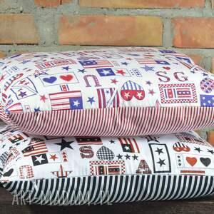 poduszki: Poduszka dekoracyjna z motywem 40x45cm poszewka