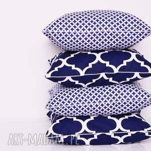 koniczyna poduszki poduszka fresh navy blue 40x40cm