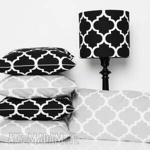handmade poduszki koniczyna poduszka fresh black 50x50cm