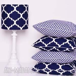 niebieskie poduszki poduszka fresh navy blue 40x40cm