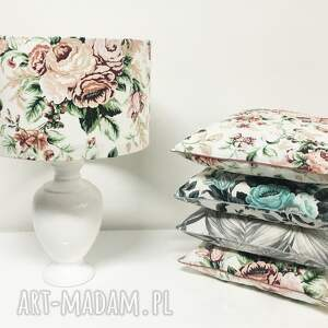 majunto poduszki poduszka do salonu gypsy roses - pink 40x40cm