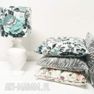 poduszki: Poduszka Gypsy roses - MINT 50x50cm od majunto - w róże