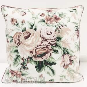 eleganckie poduszki poduszka w-róże gypsy roses - pink 40x40cm