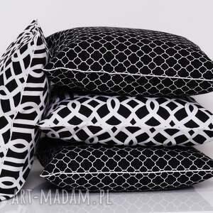poduszki poduszka dekoracyjna imperial trellis black