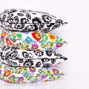 ludowe wzory poduszki poduszka kaszubska 50x50cm, folk