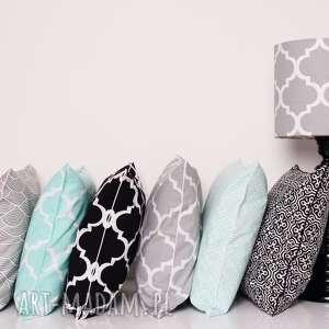 ręcznie zrobione poduszki poduszka dekoracyjna marrakech black 40x40cm