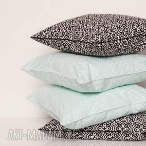 ręcznie zrobione poduszki poduszka dekoracyjna marrakech mint 40x40cm