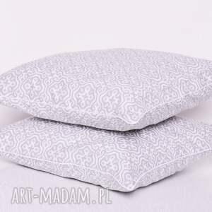 nietuzinkowe poduszki poduszka mozaika marrakech grey 40x40cm