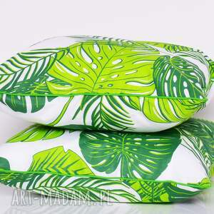 poduszki monstera poduszka leaves 50x50cm