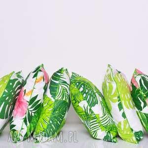 zielone poduszki monstera poduszka leaves 50x50cm