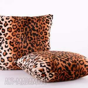 eleganckie poduszki poduszka dekoracyjna ocelot - nocny stró&#380