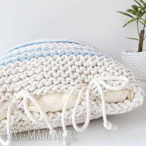 CudaRenki wyraziste poduszki poduszka pasiak blue