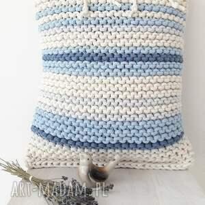 pasiak poduszki poduszka blue