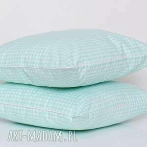 majunto poduszki: - poduszka ozdobna w-pepitke