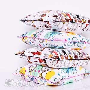 modne poduszki poduszka dziecięca stylish girls 40x40cm