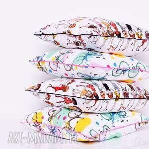 atrakcyjne poduszki poduszka dziecięca stylish girls 50x50cm