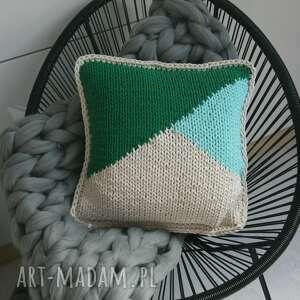 modne poduszki dom poduszka w graficzny wzór