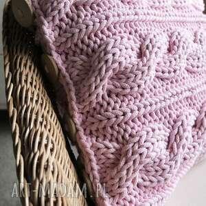 poduszki sznurek poduszka w warkocze 45 x cm