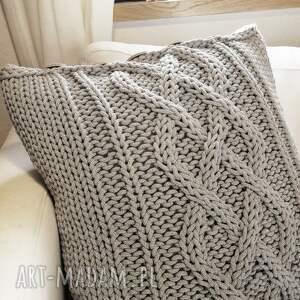 ze-sznurka poduszki poduszka w warkocze 45 x cm