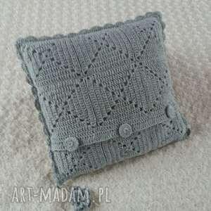 poduszki wełna poduszka wykonana ręcznie