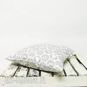 upominek święta poduszka xmas thema - grey 40x40cm