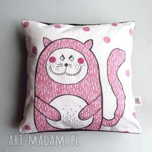 hand made poduszki jasiek poduszka z kotełem charliem