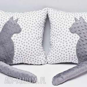 niebanalne poduszki poduszka z kotkiem i ogonem