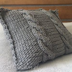 niesztampowe poduszki poduszka ze sznurka bawełnianego