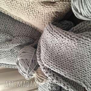 unikatowe poduszki salon poduszka ze sznurka