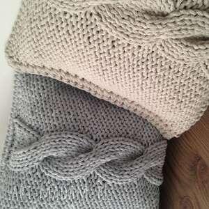 unikatowe poduszki sznurek poduszka ze sznurka bawełnianego