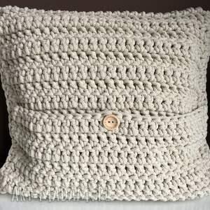 poszewka poduszki poduszka ze sznurka bawełnianego
