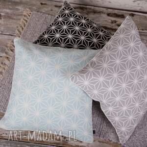 efektowne poduszki poszewka na poduszkę diamenty - 3