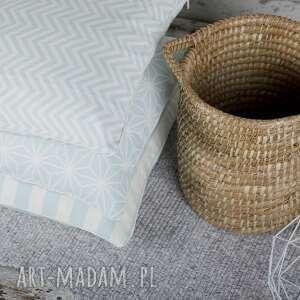 ręcznie wykonane poduszki poszewka na poduszkę lodowa mięta