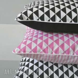 niepowtarzalne poduszki poduszka poszewka na poduszkę trójkaty