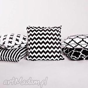 oryginalne poduszki poduszka poszewka na poduszkę b&w - 5 wzorów do wyboru