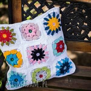 awangardowe poduszki poduszka poszewka przytul kwiatule