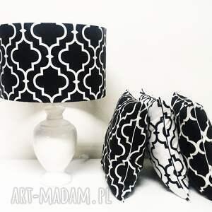 poduszka koniczyna poduszki fresh black white new