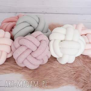 eleganckie poduszki knotpillow ręcznie pleciona dekoracyjna