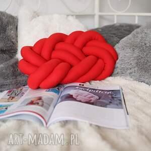 knotpillow poduszki ręcznie pleciona dekoracyjna