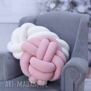 poduszki knotpillow ręcznie pleciona dekoracyjna