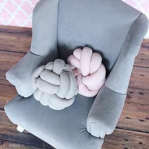 styl skandynawski poduszki ręcznie pleciona dekoracyjna