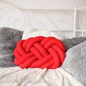 poduszki poduszka-supeł ręcznie pleciona dekoracyjna