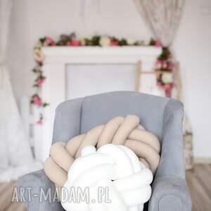 unikatowe poduszki ręcznie pleciona dekoracyjna