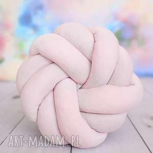 ciekawe poduszki poduszka-supeł ręcznie pleciona dekoracyjna