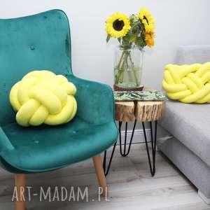 knot pillow poduszki ręcznie pleciona dekoracyjna