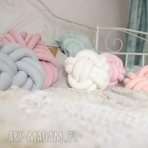 ręcznie wykonane poduszki pleciona dekoracyjna
