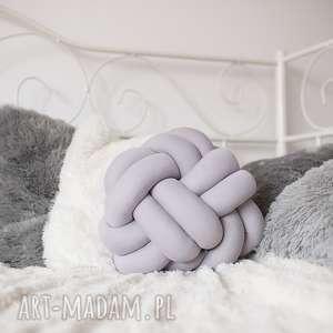 efektowne poduszki poduszka-supeł ręcznie pleciona dekoracyjna